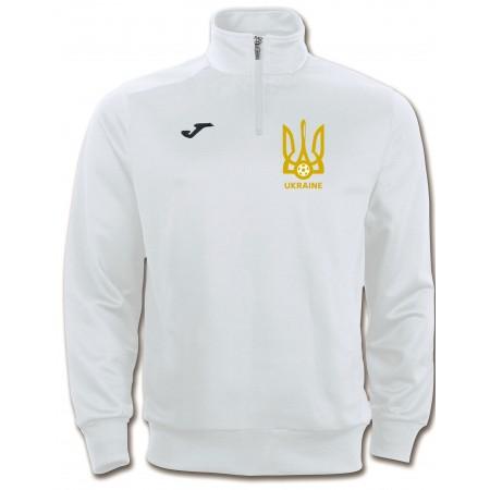 Реглан Joma Украина FARAON 100285.200. Замок 3/4 белый Gold