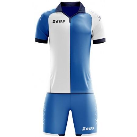 Футбольная форма Zeus KIT GRYFON ROYAL BIANCO футболка +шорты
