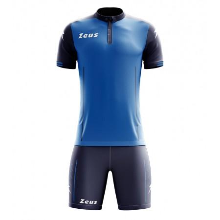 Футбольная форма Zeus KIT AQUARIUS ROYAL BLU футболка и шорты