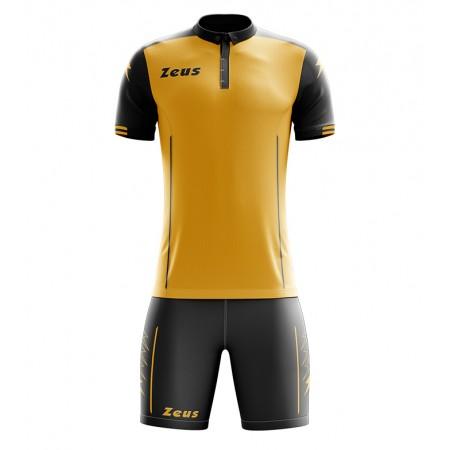 Футбольная форма Zeus KIT AQUARIUS футболка +шорты AMBRA/NERO