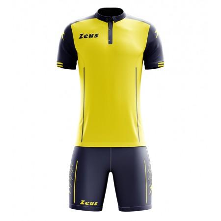 Футбольная форма Zeus KIT AQUARIUS GIALLO/BLU футболка и шорты