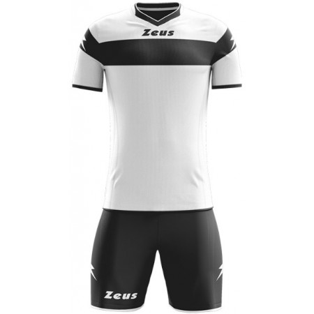 Футбольная форма Zeus KIT APOLLO BIANCO NERO футболка и шорты Z00171
