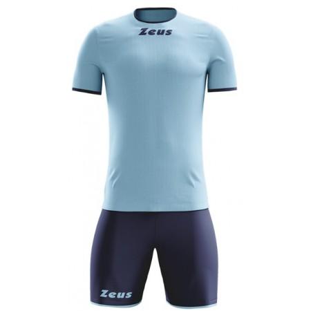 Футбольная форма Zeus KIT STICKER SKY/BLU футболка и шорты