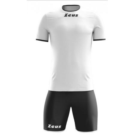 Футбольная форма Zeus KIT STICKER BIANCO NERO футболка и шорты