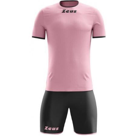 Футбольная форма Zeus KIT STICKER ROSA/NERO футболка и шорты
