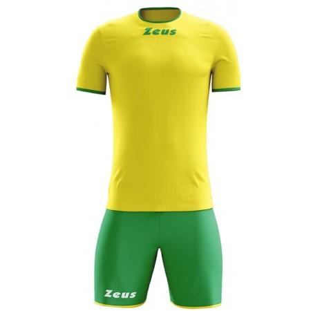 Футбольная форма Zeus KIT STICKER GIALLO/VERDE футболка и шорты