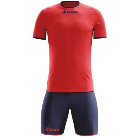 Футбольная форма Zeus KIT STICKER ROSSO BLU футболка +шорты