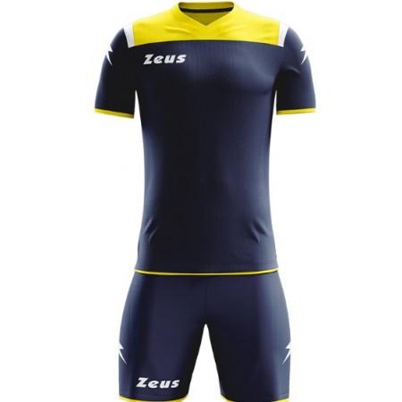 Футбольная форма Zeus KIT VESUVIO BLU GIALLO футболка и шорты Z00660