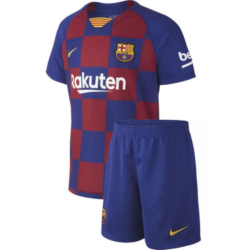 Detskaya Futbolnaya Forma Fc Barcelona 2020 Y Home Fk Barselona