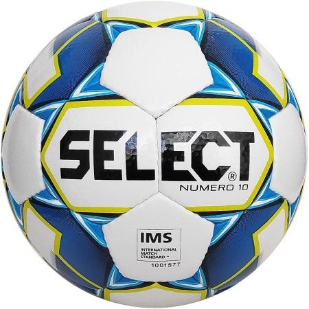 Футбольный мяч Select Numero 10 IMS размер 5 бело-голубой