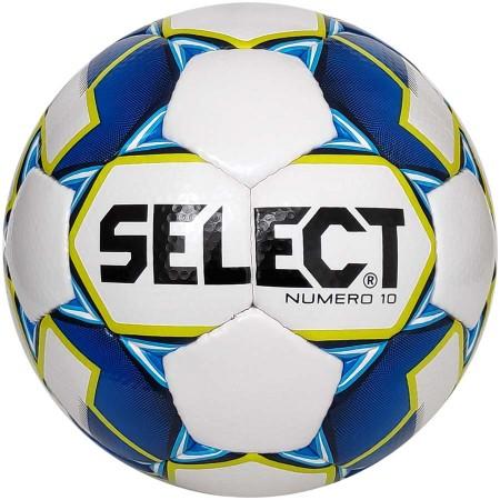 Футбольный мяч Select Numero 10 размер 4 бело-голубой