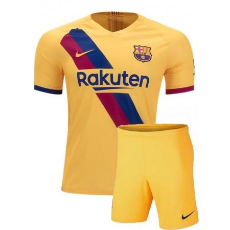 Детская футбольная форма FC BARСELONA AWAY 2020 Y MESSI ФК Барселона