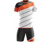 Футбольная форма Zeus KIT LYBRA UOMO BIANCO/ARANCIO футболка и шорты