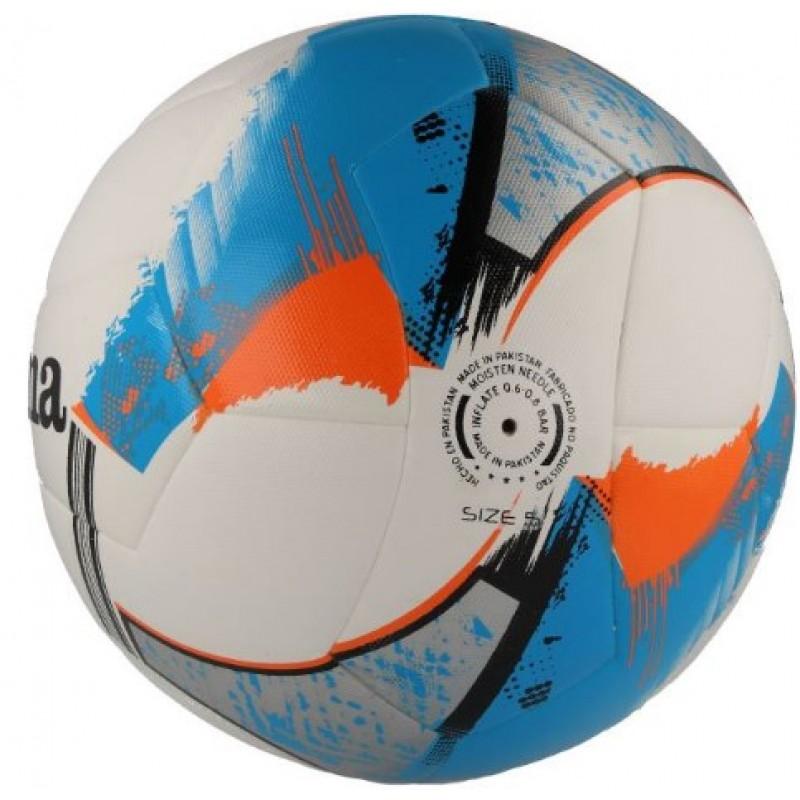 Футбольный мяч Joma HYBRID URANUS BLANCO-AZUL, размер 5