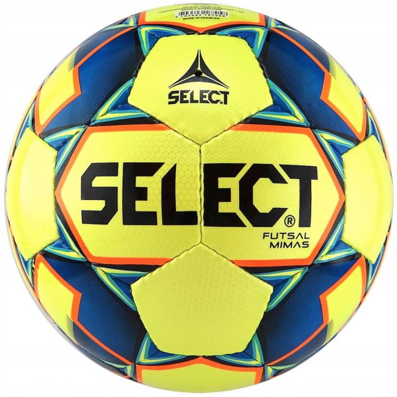 Футбольные мячи оптом Select futsal mimas желтый 3 шт, размер: 4(футзал)