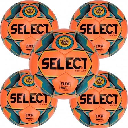Футбольные мячи оптом Select FUTSAL TORNADO FIFA 5 шт, размеры: 4