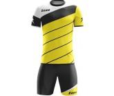 Футбольная форма Zeus KIT LYBRA UOMO GIALLO-NERO футболка и шорты