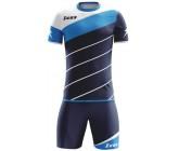 Футбольная форма Zeus KIT LYBRA UOMO BLU/LIGHT ROYAL футболка и шорты