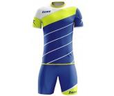 Футбольная форма Zeus KIT LYBRA UOMO ELECTRIC ROYAL/GIALLOFLUO футболка и шорты