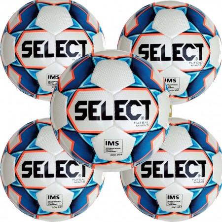 Футбольные мячи оптом Select futsal mimas белый 5 шт, размер: 4(футзал)