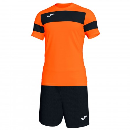 Футбольная форма Joma ACADEMY II 101349.801 оранжевая футболка, шорты