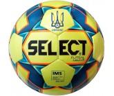 Футзальный мяч Select Futsal Mimas IMS (102) желтый с лого Украина