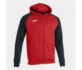 Олимпийка с капюшоном Joma ACADEMY IV 101967.601 красно-черная