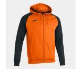 Олимпийка с капюшоном Joma ACADEMY IV 101967.881 оранжево-черная