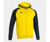 Олимпийка с капюшоном Joma ACADEMY IV 101967.901 желто-черный