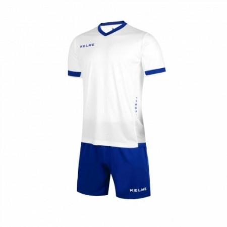 Комплект футбольньої форми ALAVES JR  біло-синій дитячий к/р  K15Z212C.9104 Kelme
