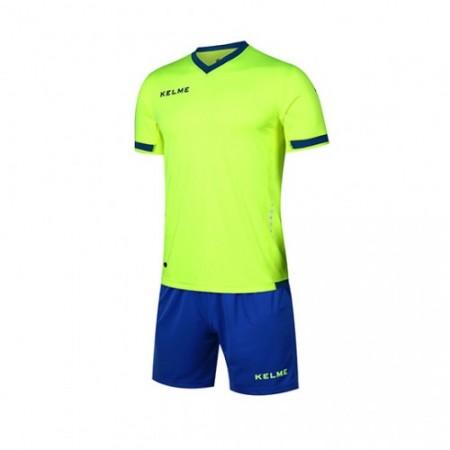 Комплект футбольньої форми ALAVES JR  салатово-синій дитячий  к/р K15Z212C.9915 Kelme