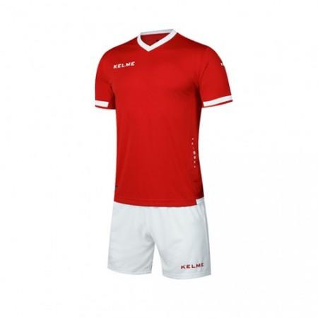 Комплект футбольньої форми ALAVES JR  червоно-білий дитячий  к/р K15Z212C.9610 Kelme