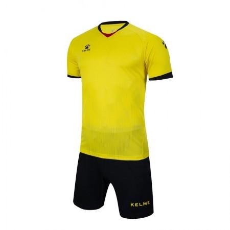 Комплект футбольньої форми жовто-чорний  к/р  3801096.9712 Kelme