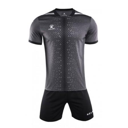 Комплект футбольньої форми т.сіро-чорний  к/р  3801098.9201 Kelme