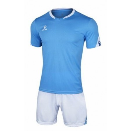 Комплект футбольньої форми блакитно-білий  к/р  дитячий 3803099.9476 Kelme
