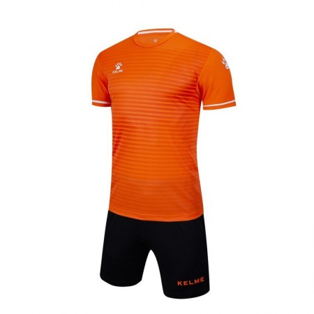 Комплект футбольньої форми оранжево-чорний  к/р  3801169.9910 Kelme