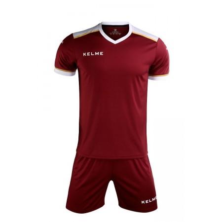 Комплект футбольньої форми  бордовий к/р SEGOVIA  3871001.9603 Kelme