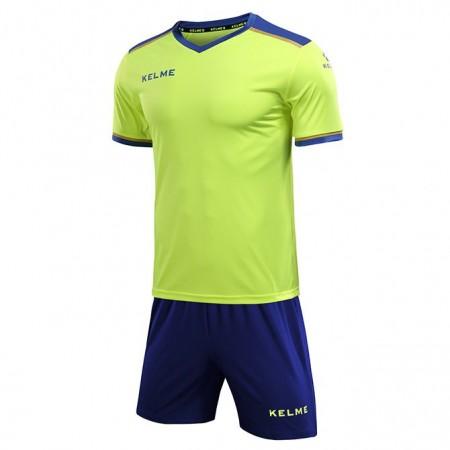 Комплект футбольньої форми  салатово-синій к/р SEGOVIA 3871001.9918 Kelme