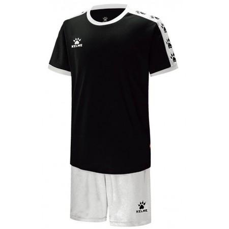 Комплект футбольньої форми COLLEGUE чорно-білий  к/р дитячий 3883033.9103 Kelme