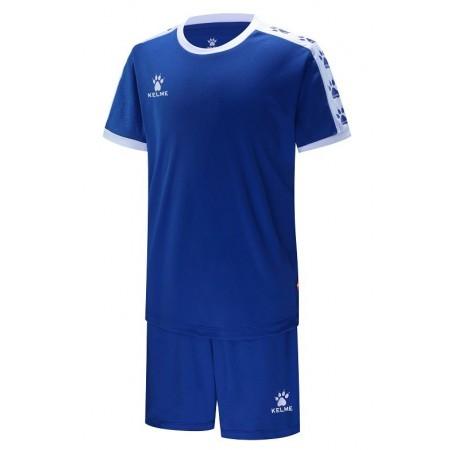 Комплект футбольньої форми  синьо-білий  COLLEGUE к/р дитячий 3883033.9409 Kelme
