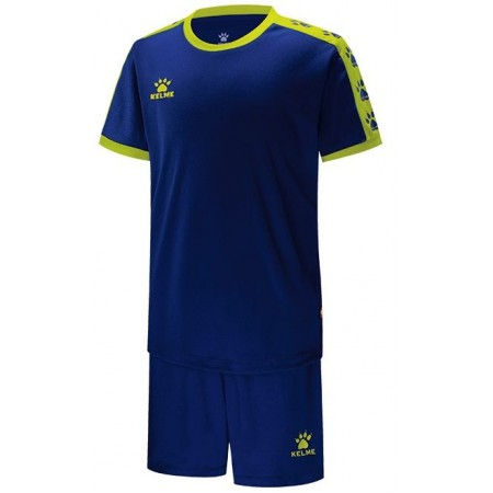 Комплект футбольньої форми  т.синьо-салатовий  к/р дитячий COLLEGE  3883033.944 Kelme