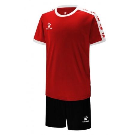 Комплект футбольньої форми COLLEGUE червоно-білий  к/р дитячий   3883033.9610 Kelme