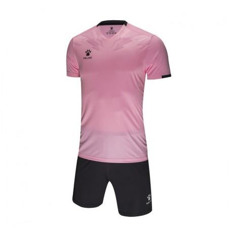 Комплект футбольньої форми  рожево-сірий  к/р 3891049.9681 Kelme