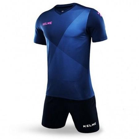 Комплект футбольньої форми т.синьо-рожевий к/р LIGA 3981509.9420 Kelme