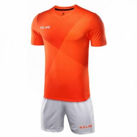 Комплект футбольньої форми  оранжево-білий к/р LIGA 3981509.9910 Kelme