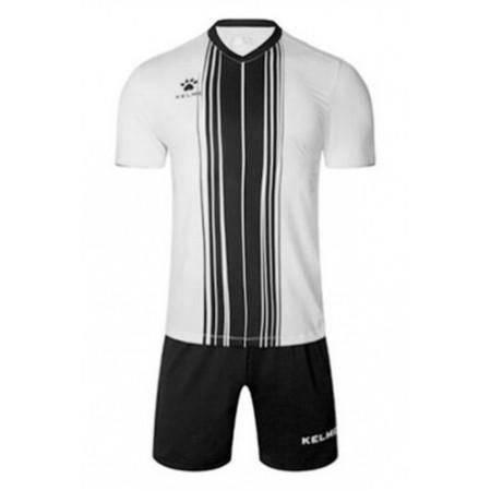Комплект футбольньої форми  біло-чорний к/р 3991536.9103 Kelme