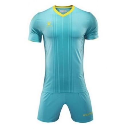 Комплект футбольньої форми  блакитно-жовтий к/р 3991536.9736 Kelme