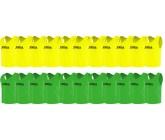 Футбольные манишки Joma оптом зеленые и лимонные 22 шт