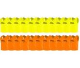Футбольные манишки Joma оптом оранжевые и лимонные 22 шт