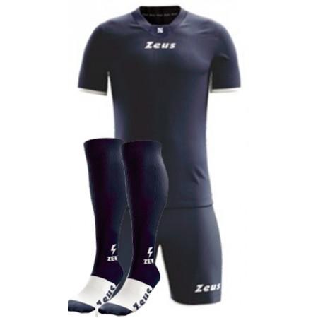 Футбольная форма темно-синяя Zeus KIT PROMO футболка+шорты+гетры Z00498